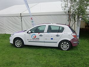 Sustainable development in Scotland - Electric Vauxhall run by the Cairngorms National Park Authority