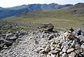 Cairns mark the way, Scafell Pike - geograph.org.uk - 1331332.jpg