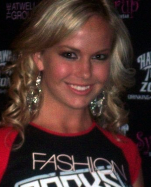 Caitlin Upton - Upton in July 2007
