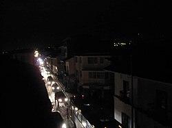 Calle Larga at night during power cut.jpg