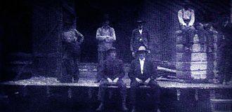 Draketown, Georgia - Cotton gin owned by Calvin C. Bishop around 1900