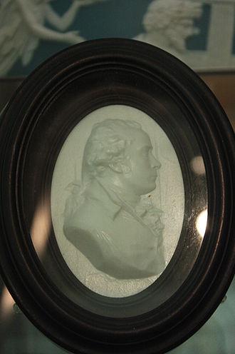 James Tassie - Cameo medallion of James Tassie by William Tassie in the style invented by Tassie