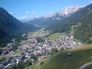 Campitello di Fassa - Image: Campitello (Val di Fassa)