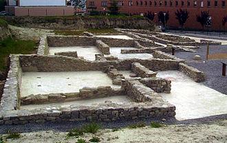 El Camp de les Lloses Interpretation Centre and Site - View of the settlement