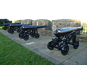 Cannon at the French Spur, Stirling Castle.jpg