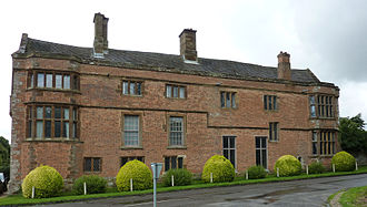 Francis Marbury - Canons Ashby House, Northamptonshire, birthplace of Marbury's wife, Bridget