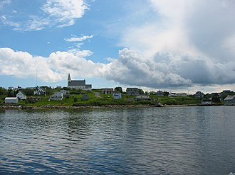 Canso, Nova Scotia - Canso as seen from the harbour