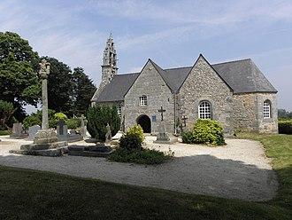 Caouënnec-Lanvézéac - The church of Saint-Ézéchiel, in Lanvézéac