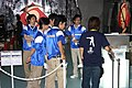 Capcom booth male staffs at Tokyo Game Show 20060921.jpg
