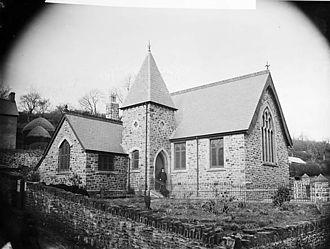 Llandysul - Capel y Graig, Llandysul, c. 1885