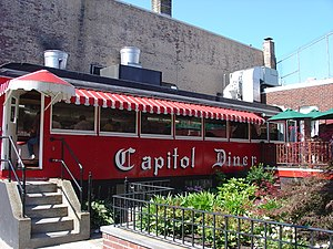 National Register of Historic Places listings in Lynn, Massachusetts - Image: Capitoldiner