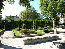 photographie des vestiges du couvent des capucins à Belfort