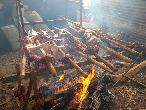Platos típicos del Amazonas: asados