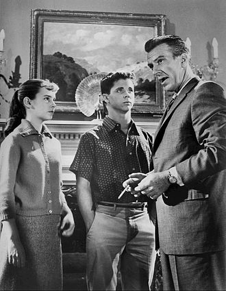 Cindy Carol - Carol Sydes, Tony Dow, and Hugh Beaumont on Leave It to Beaver (1960)