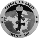 Carrier Air Group 21 (US Navy) insignia, 1958.png