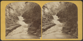 Cascades on Eagle Creek, near Ithaca, from Robert N. Dennis collection of stereoscopic views.png