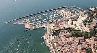 Cascais Marina - Aerial view of the Cascais Marina.