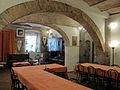 Castello della magione, interno, sala refettorio 01.JPG