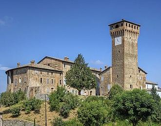 Castelvetro di Modena - Image: Castello di Levizzano Castelvetro