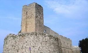 Monte Sant'Angelo castle - Image: Castello di Monte Sant'Angelo