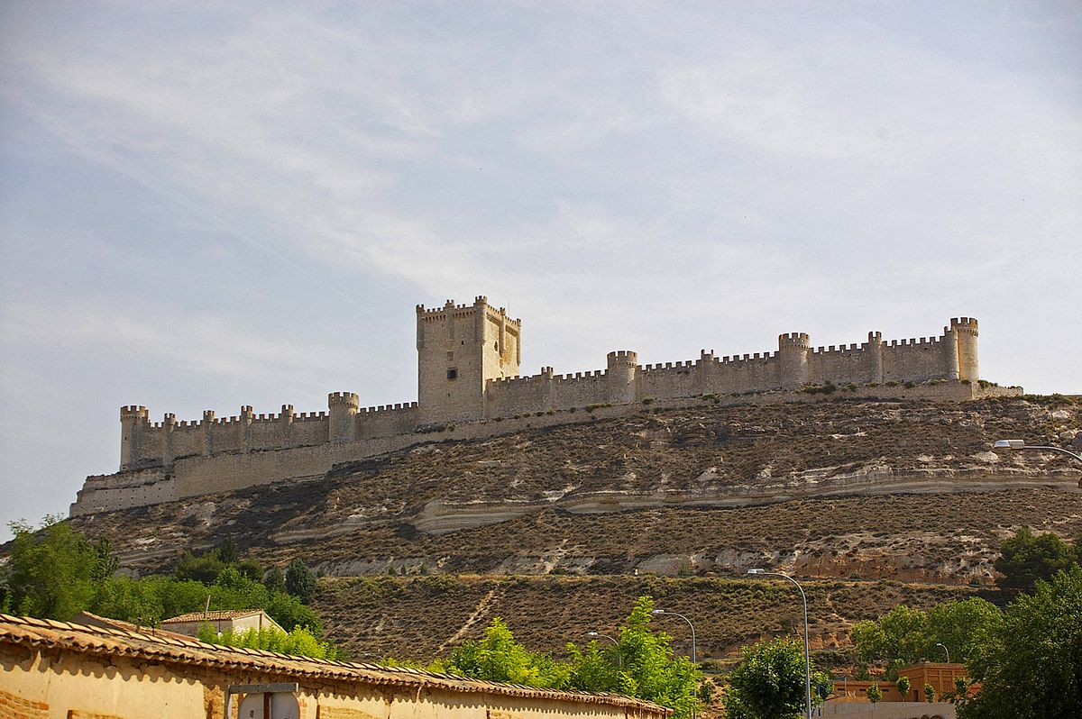 Castillo De Pe 241 Afiel Wikimedia Commons