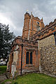 Castle Hedingham, St Nicholas' Church, Essex England, south porch and tower.jpg