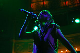 Cat Power - Cat Power performing in Amsterdam, Netherlands, 2008