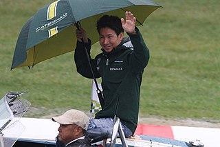 Kamui Kobayashi Japanese racing driver
