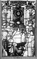 Cathédrale - Vitrail, Chapelle Saint-Joseph, Vie de saint Romain, lancette de gauche, quatrième panneau, en haut - Rouen - Médiathèque de l'architecture et du patrimoine - APMH00031311.jpg