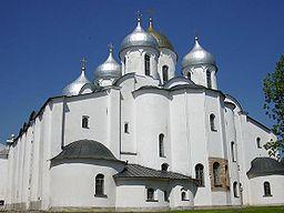 Sofiakatedralen i Novgorod.