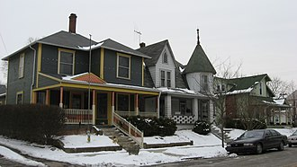 National Register of Historic Places listings in Hamilton County, Indiana - Image: Catherine Street Historic District