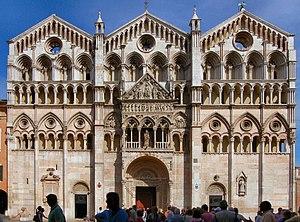 Roman Catholic Archdiocese of Ferrara-Comacchio - Cathedral in Ferrara