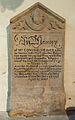 Caythorpe St Vincent - Memorial to Edmund Weaver.jpg