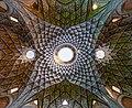 Ceiling of Aminoddole Carvansarai, Kashan, Iran.jpg