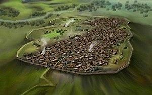 Oppidum - Celtic Oppidum, Central Europe 1st century BC