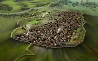 Oppidum Iron Age type of settlement