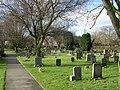 Cemetery - Hallfield Lane - geograph.org.uk - 1173970.jpg