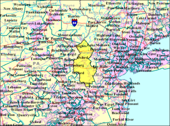 Census Bureau map of New Jersey's 23rd Legislative District.png