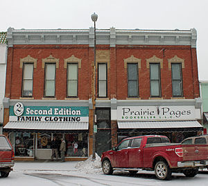 National Register of Historic Places listings in Hughes County, South Dakota - Image: Central Block