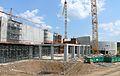 Centre Pompidou-Metz - Fin de la réalisation de la galerie 1 et du studio de création.JPG