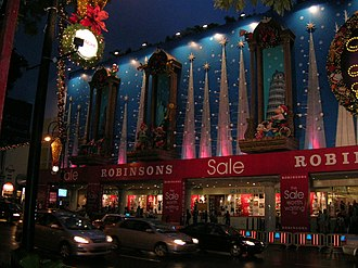 Robinson & Co. - Robinsons at Centrepoint, Orchard Road during Christmas 2004.