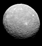Ceres RC1 single frame by Dawn, 12 February 2015