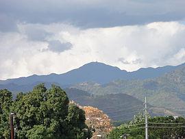 Cerro de Punta as seen from Museo de Arte de Ponce, Ponce, Puerto Rico (DSC03460).jpg
