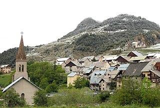 Cervières, Hautes-Alpes Commune in Provence-Alpes-Côte dAzur, France