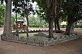 Chaitya and Water Pot for Birds - Santiniketan 2014-06-29 5550.JPG