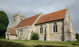 Chalgrove - Image: Chalgrove St Mary V SE