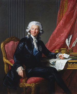 Charles Alexandre de Calonne - Portrait of de Calonne by Élisabeth-Louise Vigée-Le Brun (1784, Royal Collection)