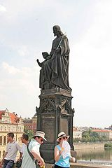 Statue of Saint Joseph, Charles Bridge