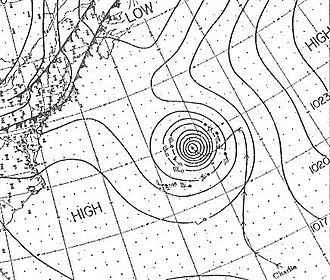 1950 Atlantic hurricane season - Image: Charlie 50