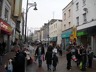 Medway - Chatham High Street, December 2007